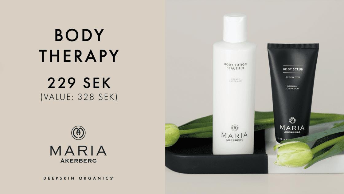 Maria Åkerberg Body Therapy - Månadens erbjudande