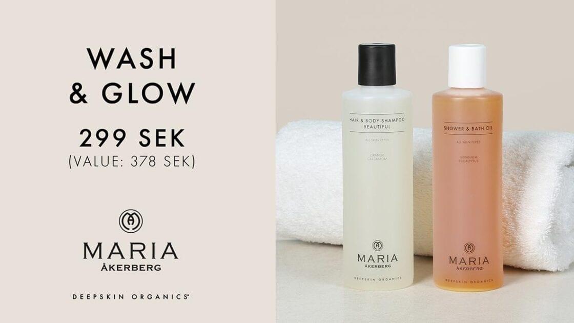 Maria Åkerberg Wash & Glow Kampanj