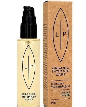 Lip Intimate Care - Cleansing & Moisturising Oil Coconut + Vanilla -