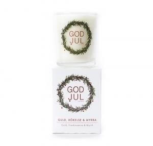 God Jul ljus Myrra-Guld-Rökelse -